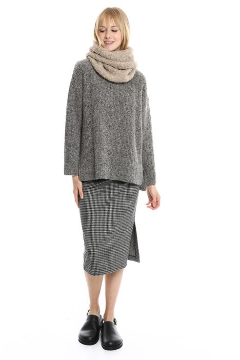 Collo in lana bouclé Diffusione Tessile