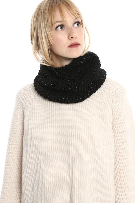 Collo in lana lurex Diffusione Tessile