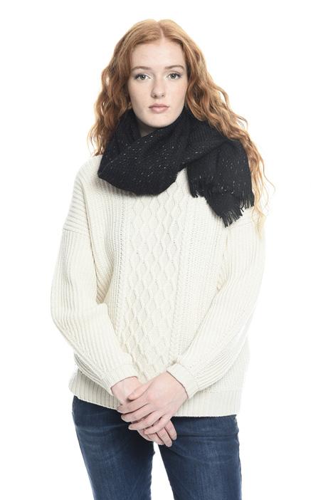 Sciarpa tressé misto lana Diffusione Tessile