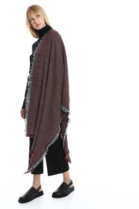 Sciarpa pied de poule in lana Diffusione Tessile