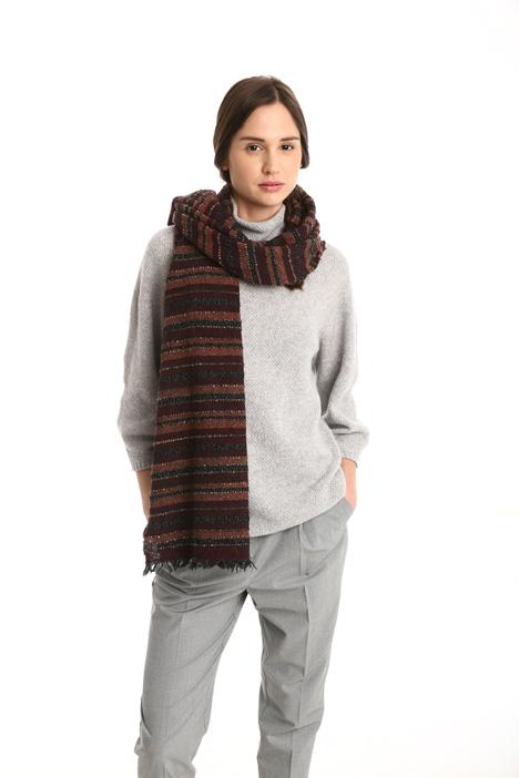 Lurex bouclé scarf Intrend