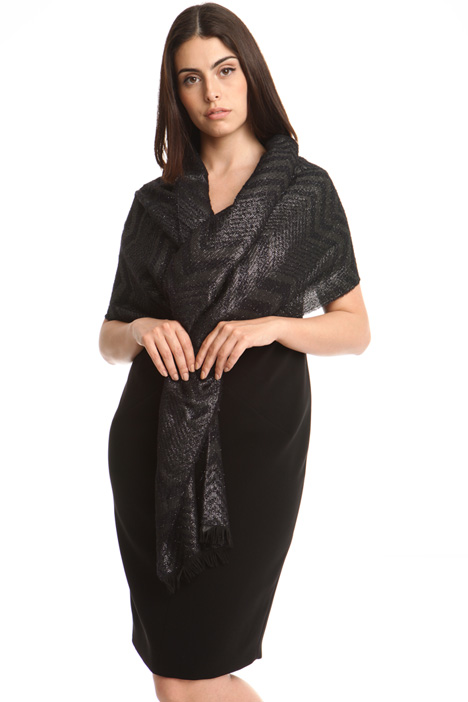 Lightweight lurex scarf Diffusione Tessile