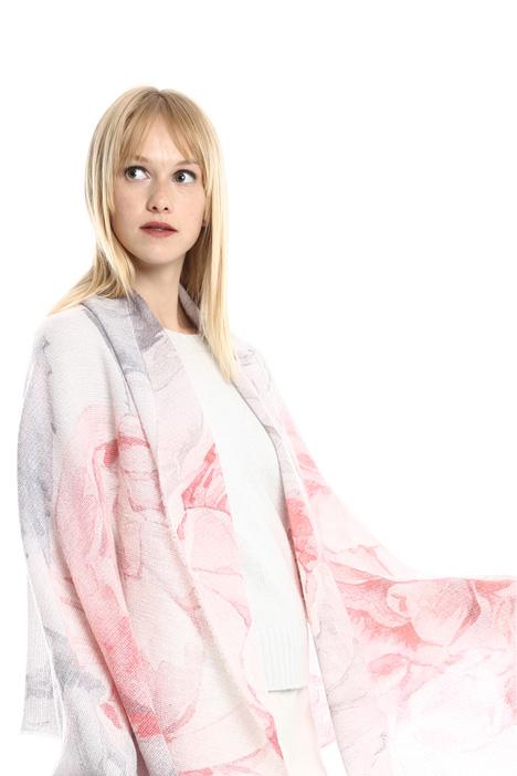 Sciarpa in garza di lana Diffusione Tessile