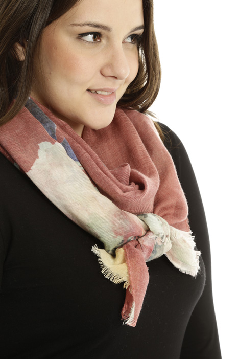 Wool blend scarf Diffusione Tessile