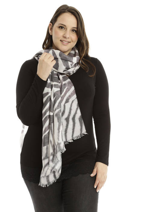 Lurex viscose scarf Intrend