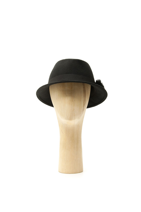 Cappello con pon-pon Diffusione Tessile