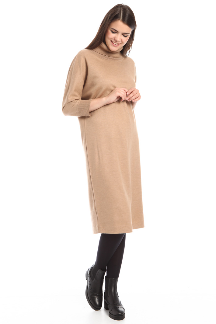 Wool jersey dress Diffusione Tessile