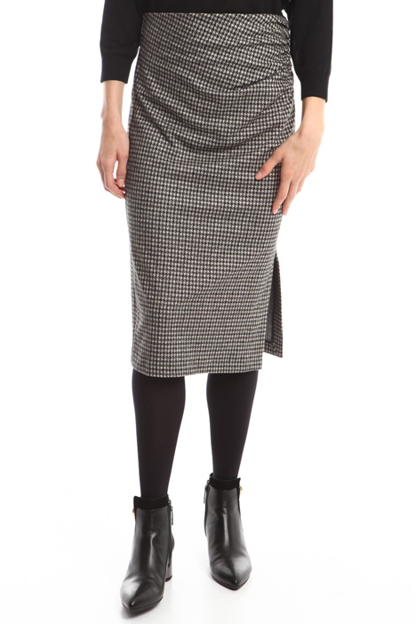 Jacquard viscose skirt Intrend