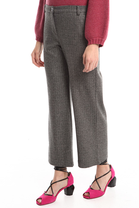 Striped viscose trousers Diffusione Tessile