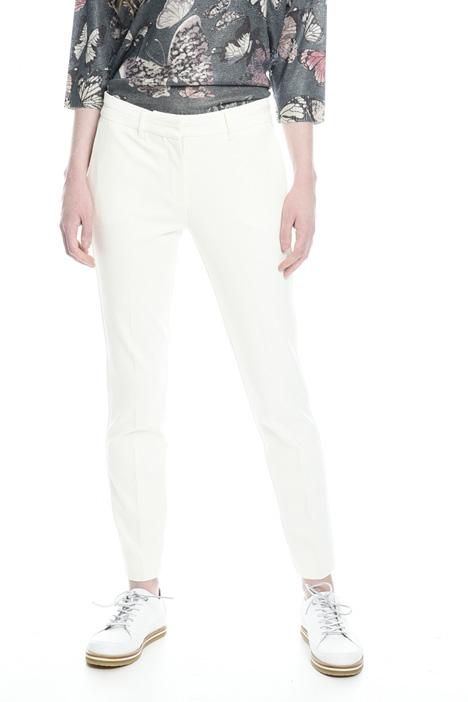 Pantaloni in jersey compatto Diffusione Tessile