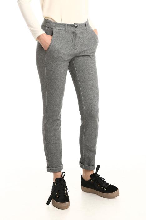 Pantalone aderente in jersey Diffusione Tessile
