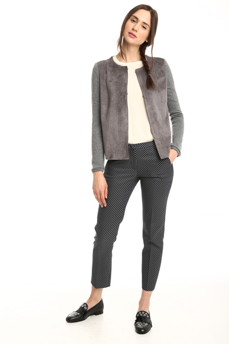 Suede-effect jacket Diffusione Tessile
