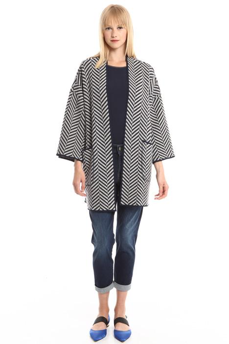 Jacquard jersey jacket Diffusione Tessile