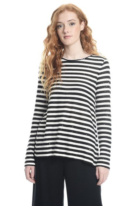 Lightweight striped sweater Diffusione Tessile