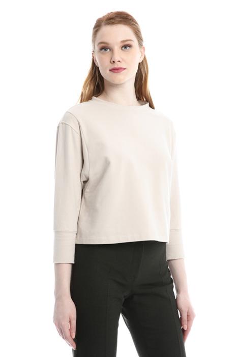 T-shirt boxy in cotone Diffusione Tessile