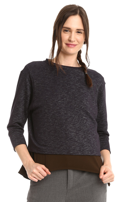 Slub-effect sweatshirt Diffusione Tessile