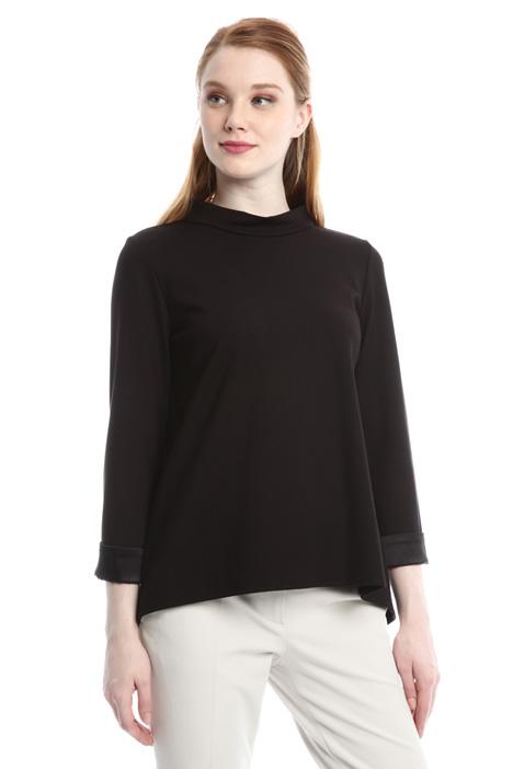 Viscose blend T-shirt Diffusione Tessile