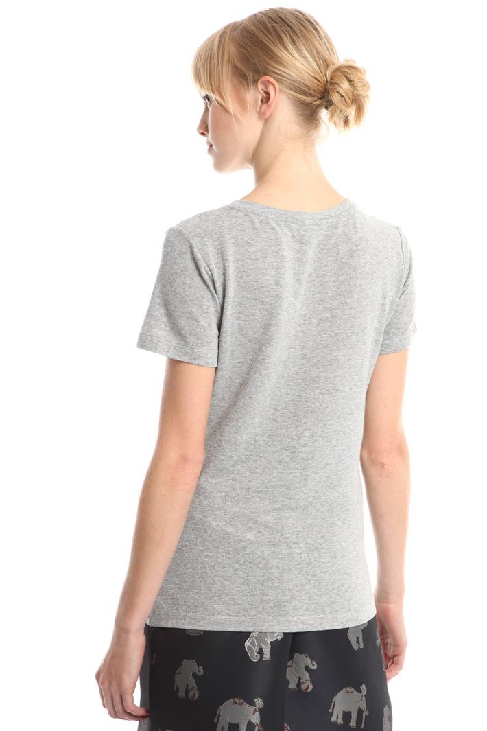 T-shirt in viscosa lurex Diffusione Tessile