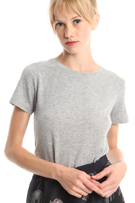 T-shirt in viscosa lurex Diffusione Tessile