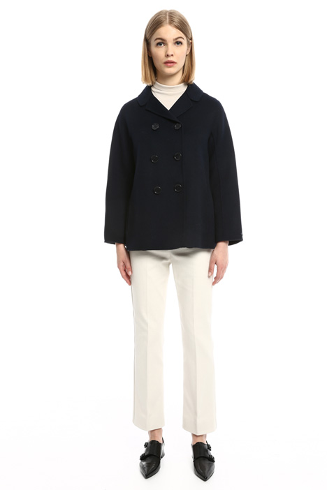 Boxy double wool jacket Diffusione Tessile