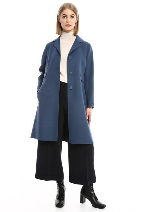 Cappotto in lana cucito a mano Diffusione Tessile