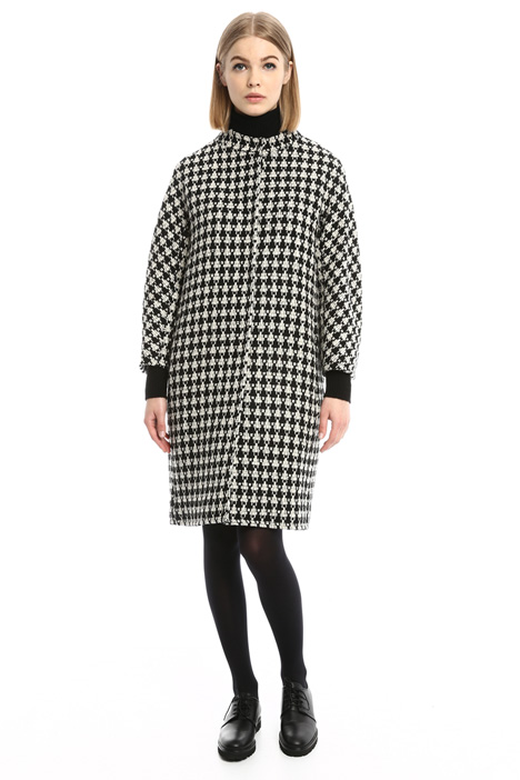 Egg-shape wool coat Diffusione Tessile