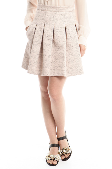 Wicker-effect skirt Diffusione Tessile