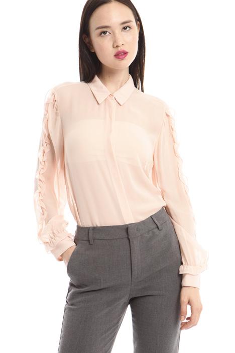 Camicia in georgette Diffusione Tessile