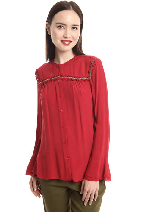 Camicia in marocaine di viscosa Diffusione Tessile