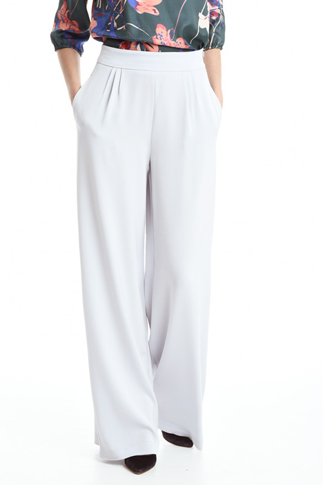 Pantaloni in crepe enver satin Diffusione Tessile