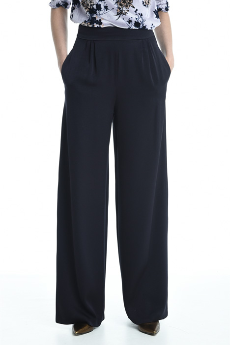 Pantaloni in crepe enver satin Intrend