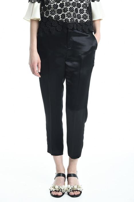 Pantaloni in raso fluido Diffusione Tessile