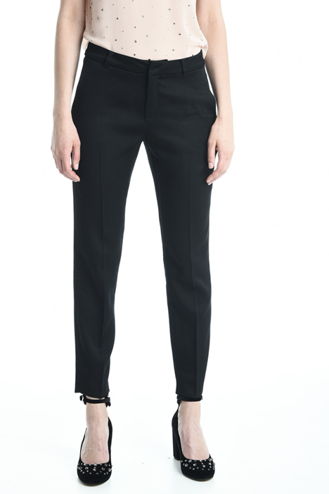Pantaloni in fluido stretch Diffusione Tessile