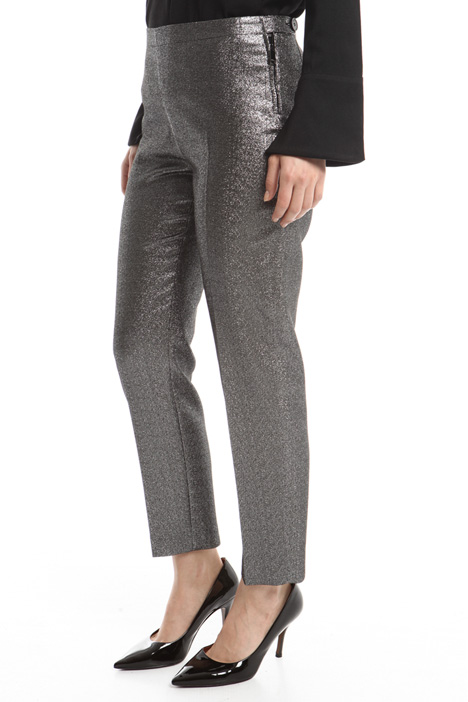 Pantaloni in cady lurex Diffusione Tessile