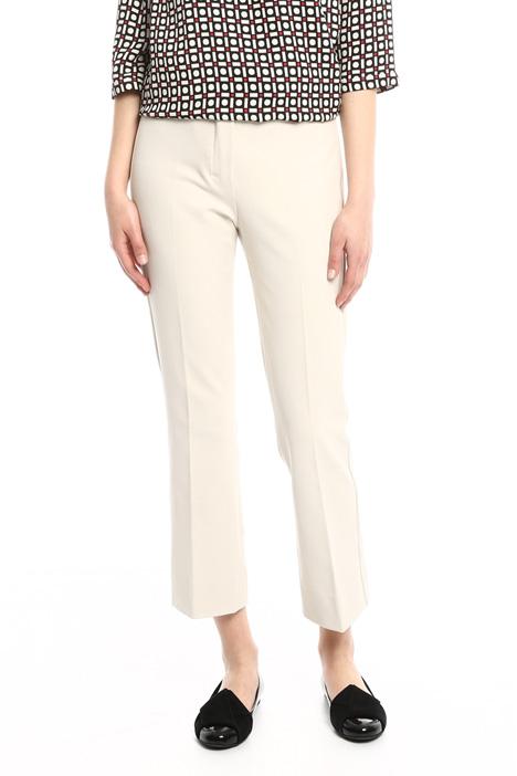 Pantaloni cropped misto cotone Diffusione Tessile