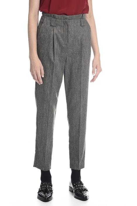 Pantalone in tinto filo lurex Diffusione Tessile