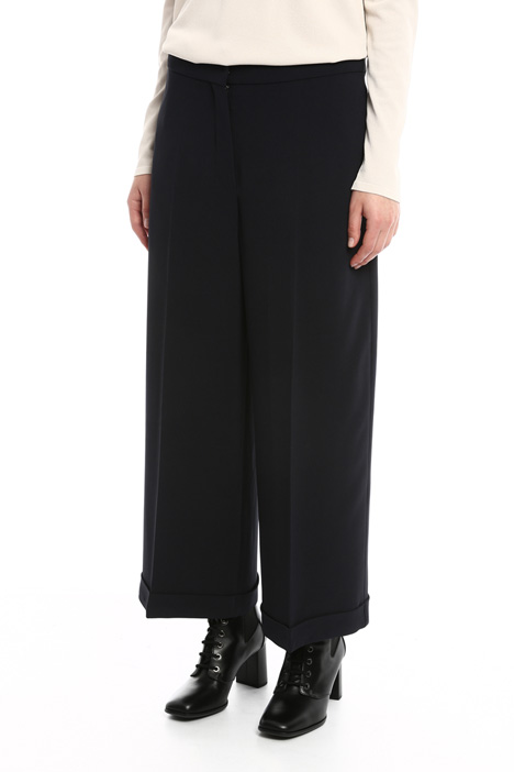 Fluid cady trousers Diffusione Tessile