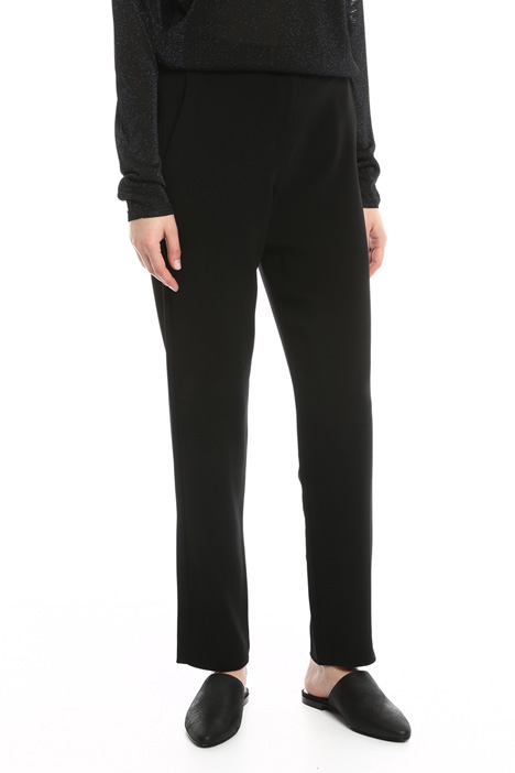 Trousers with elastic waist Diffusione Tessile