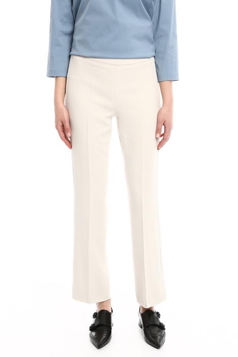 Pantaloni con zip laterale Diffusione Tessile