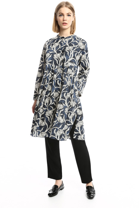 Printed chemisier dress Diffusione Tessile