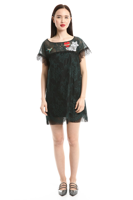 Embroidered lace dress Intrend