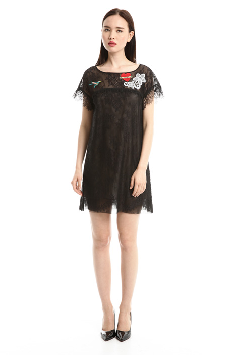 Embroidered lace dress Diffusione Tessile
