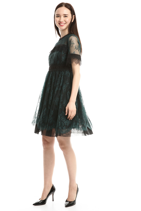 Lace princesse-line dress Diffusione Tessile