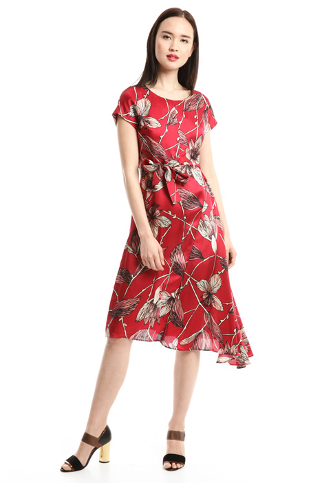 Floral printed dress Diffusione Tessile