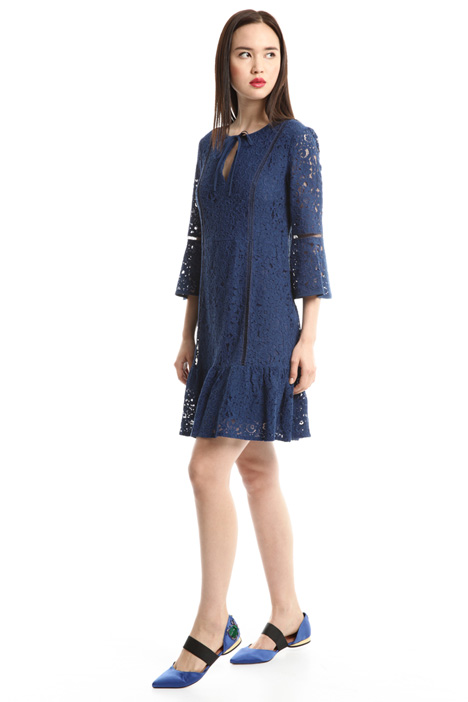Lace dress with passementerie Diffusione Tessile