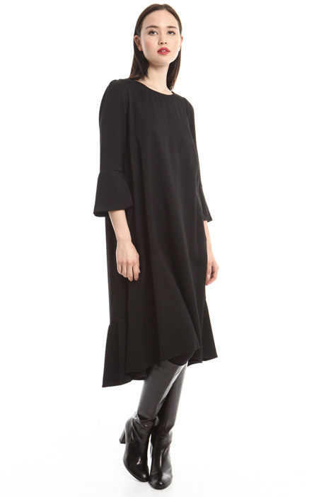 Oversized asymmetric dress Intrend