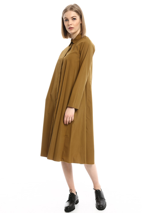 Oversized poplin dress Intrend
