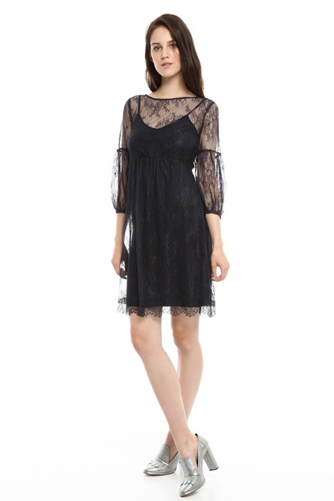 Lace dress with slip Intrend