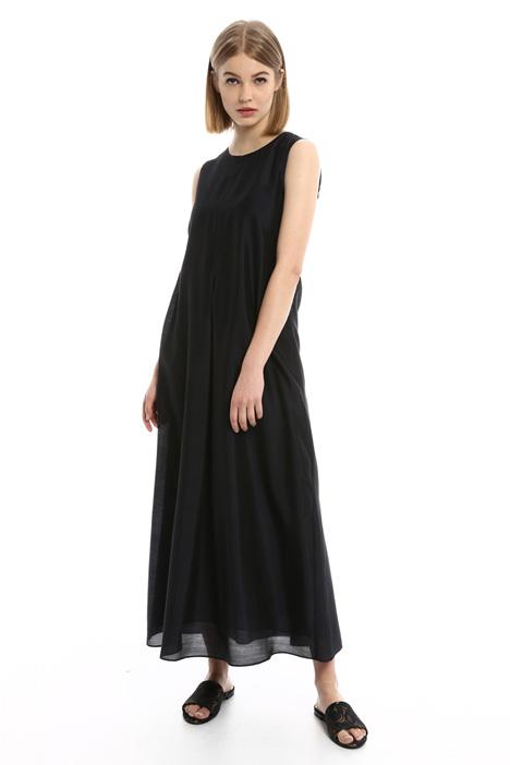 Sleeveless organza dress Intrend