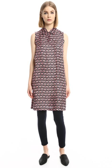 A-line twill dress Intrend